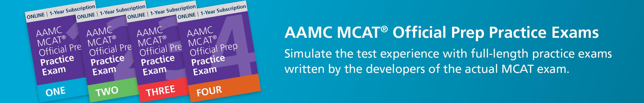 MCAT® Full Length Exams