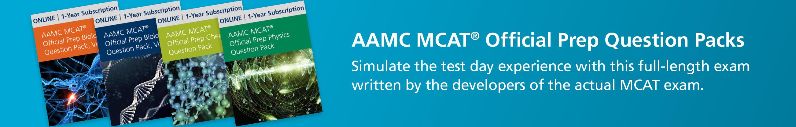 MCAT® Question Packs