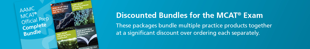 MCAT® Product Bundles