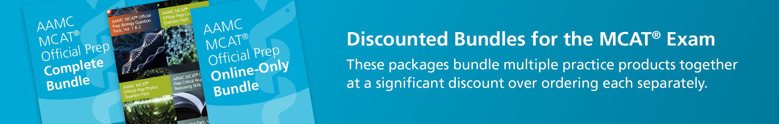 MCAT® Product Bundles