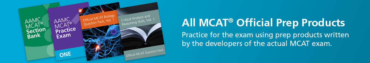 Individual MCAT® Official Prep Products
