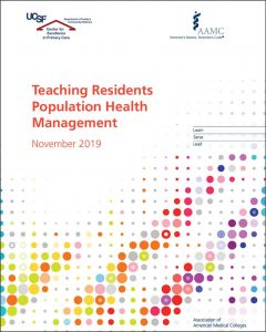 Teaching Residents Population Health Management