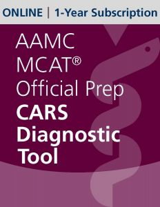 AAMC MCAT Official Prep CARS Diagnostic Tool (Online) | 1-Year Subscription
