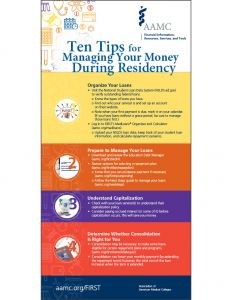 10 Tips for Managing Your Money During Residency (Print)