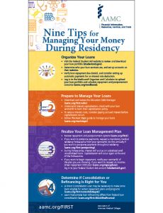 Nine Tips for Managing Your Money During Residency