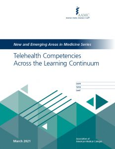 Telehealth Competencies Across the Learning Continuum