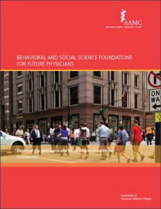 Behavioral and Social Science Foundations for Future Physicians (PDF)