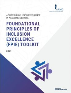 Achieving Inclusion Excellence in Academic Medicine: Foundational Principles of Inclusion Excellence (FPIE) Toolkit