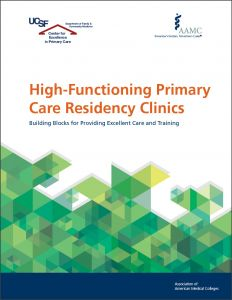 High-Functioning Primary Care Residency Clinics