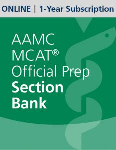 AAMC MCAT Official Prep Section Bank (Online) | 1-Year Subscription