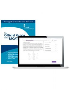 The Official Guide to the MCAT Exam, Fifth Edition + Online Practice Questions