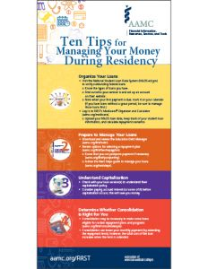 10 Tips for Managing Your Money During Residency