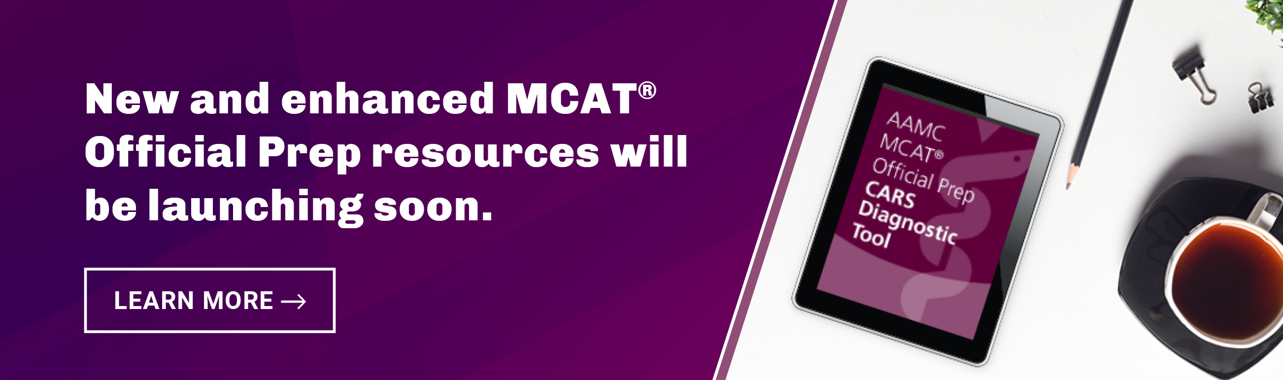 MCAT Official Prep Products Coming soon