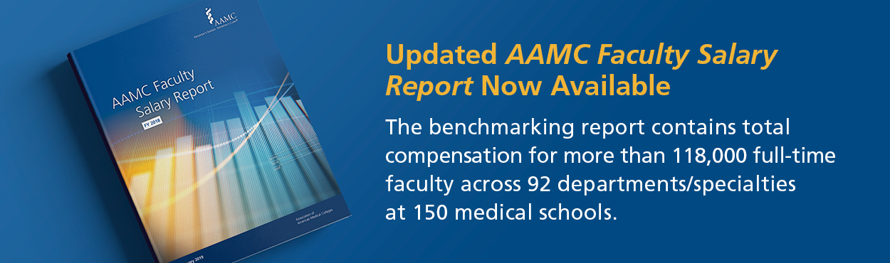 Purchase the AAMC Faculty Salary Report