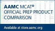 MCAT comparison chart